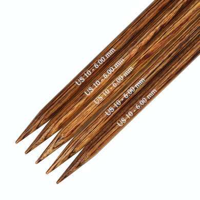 Knitter's Pride Ginger Double Point Needles 15cm (6in) (Set of 5)