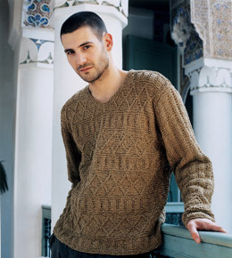 Noah Sweater in Rowan Summer Tweed