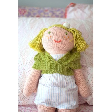 Comfort of a Friend Doll Shawl Knitting pattern by Shannon Okey Knitting Pa...