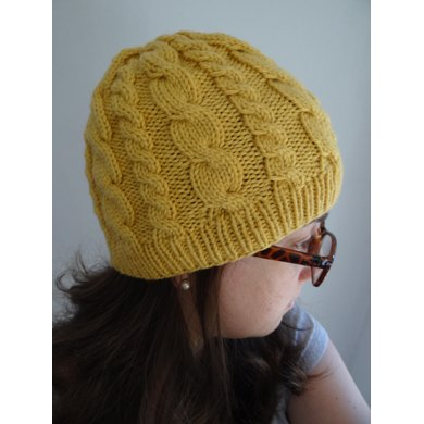Cable Hat Knitting Pattern By Tricotazo