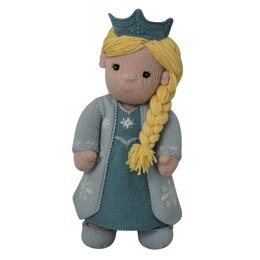 Snowflake Gown (Knit a Teddy)