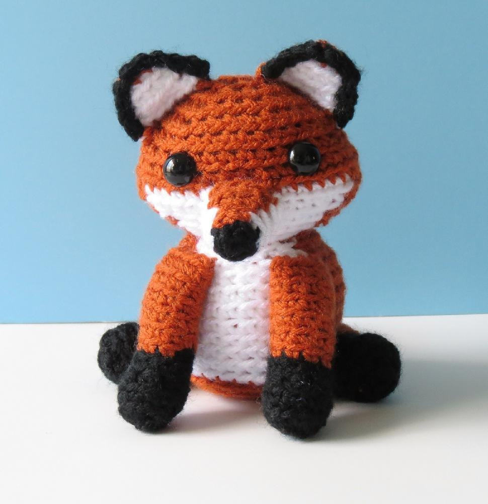15 Crochet Fox Patterns - Crochet News | 1000x970