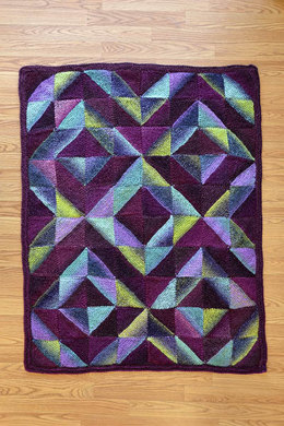 Quilt Pattern in Universal Yarn Classic Shades Metallic - 1341 - Downloadable PDF