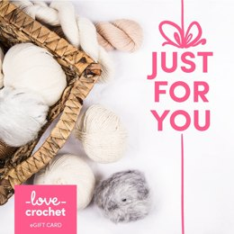 LoveCrochet eGift Card - Just For You