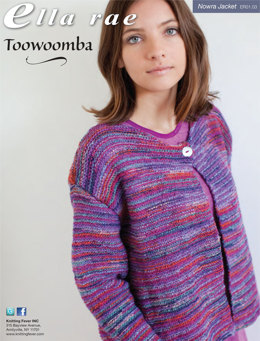 Nowra Jacket in Ella Rae Toowoomba - ER01-03 - Downloadable PDF