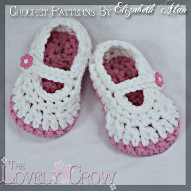 Baby Button Mary Janes