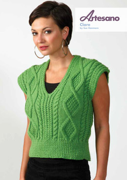 Clare Top in Artesano Aran