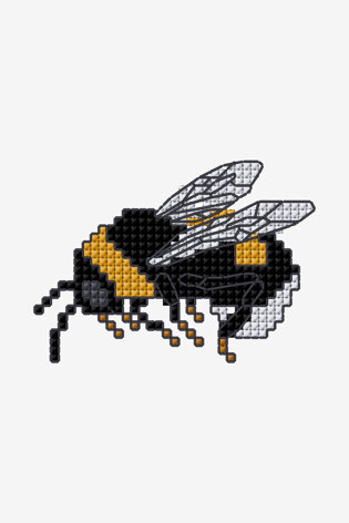 Bumble Bee in DMC - PAT0685 -  Downloadable PDF
