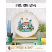 Satsuma Street Pretty Little Sydney Cross Stitch Chart -  Leaflet