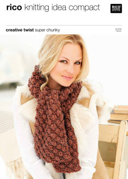 Scarves and Snoods in Rico Creative Twist Super Chunky - 122