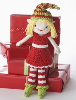 Lily the Christmas Elf in Lily Sugar 'n Cream Solids