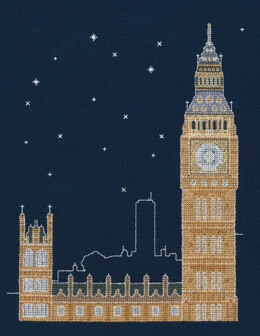 DMC London by Night 14 Count Cross Stitch Kit