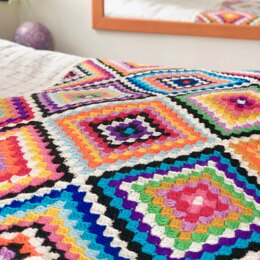 Colourful Carnaby Blanket