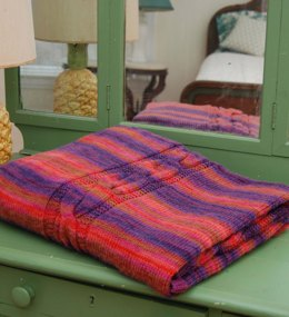 Hug From Home Throw in Classic Elite Yarns Liberty Wool