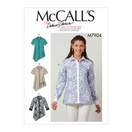 McCall's Misses' Shirts M7904 - Sewing Pattern
