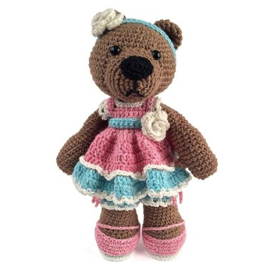 Cuddle Me Bear amigurumi pattern - Amigurumi Today | 390x390