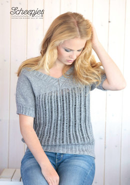 Top in Scheepjes Stone Washed - Model C