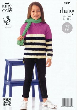 Sweaters in King Cole Comfort Chunky - 3992