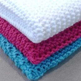 3 Different dish/face/wash cloths