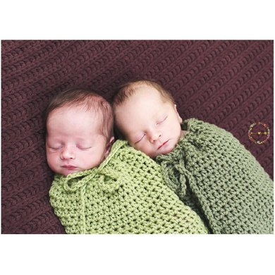 Basic Baby Cocoon Or Swaddle Sack Crochet Pattern By Crochet By
