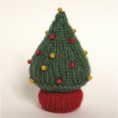 Little Christmas Tree Knitting Pattern By Amanda Berry Knitting