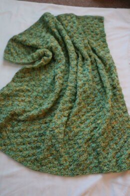 Ombre Turtle Baby blanket.