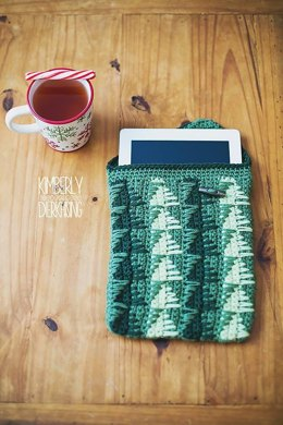 Christmas Tree iPad Cozy
