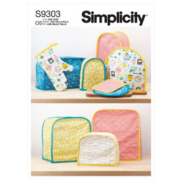 Simplicity Appliance Covers S9303 - Sewing Pattern