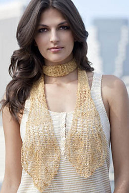 Elsa Lace Scarf in S. Charles Collezione Crystal