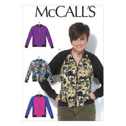 McCall's Misses' Jackets M7100 - Sewing Pattern