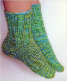 First-Time Toe-Up Socks (Any Gauge)