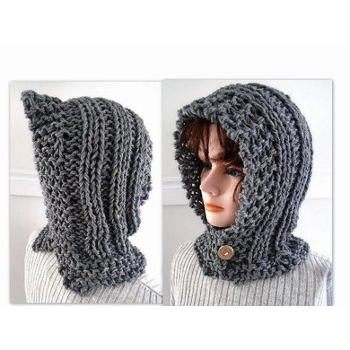 833 -HECTANOOGA KNIT HOOD
