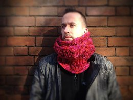 Snakes and Ladders Moebius Cowl