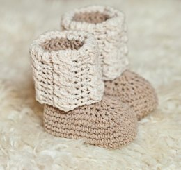 Baby Autumn Cable Boots