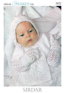 Layette in Sirdar Snuggly 3 Ply 50g - 3421