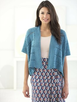 Zen Cardigan in Lion Brand Coboo - L70144 - Downloadable PDF