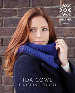 Ida Cowl in MillaMia Naturally Soft Aran