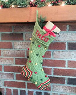 Theo Christmas Stocking