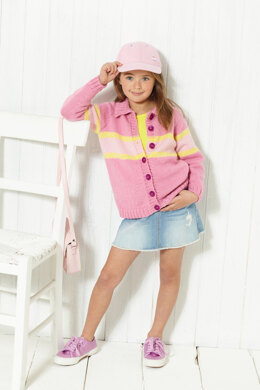 Collared Cardigan & Hooded Cardigan in King Cole Paradise Beach Dk - 5613 - Leaflet