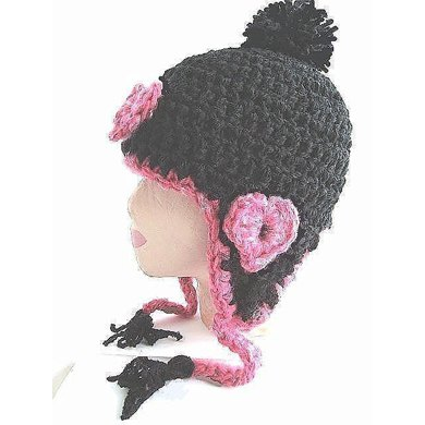235 SWEETHEART EARFLAP HAT