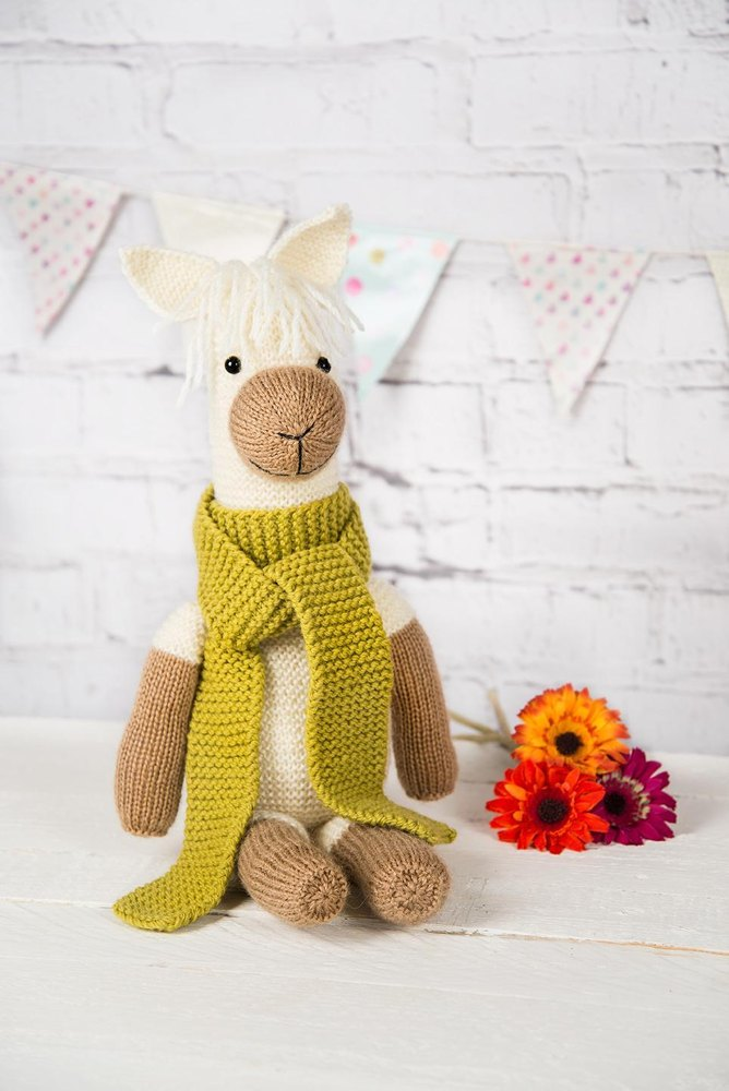Pax The Alpaca Knitting Pattern By Amanda Berry