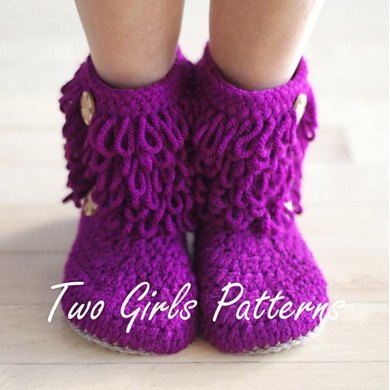Furryluscious Women's Crochet Boot