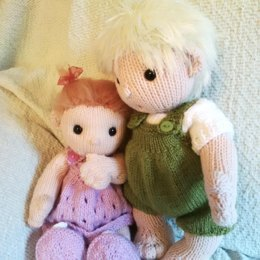 Baby Poppets (including free hair tutorial)
