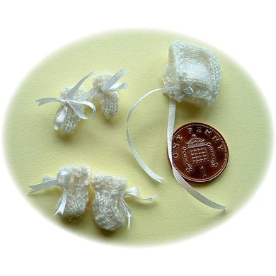1:12th scale baby set