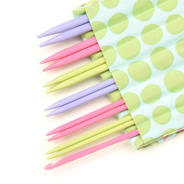 Denise2Go Interchangeable Needle Tips - Roses & Dots