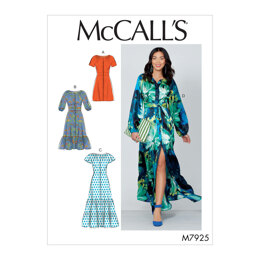 McCall's Misses' Dresses M7925 - Sewing Pattern