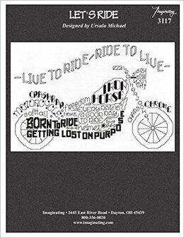Imaginating Let's Ride Cross Stitch Chart
