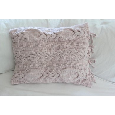 Cabled Pillow Sham