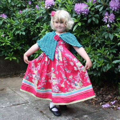 Special Occasion/Flower Girl Cape.
