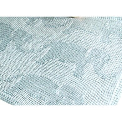Easy Elephant Baby Blanket